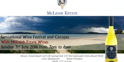 SemSational Wine Festival _ Sunday 3rd July