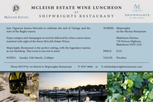 Sydney Wine Luncheon